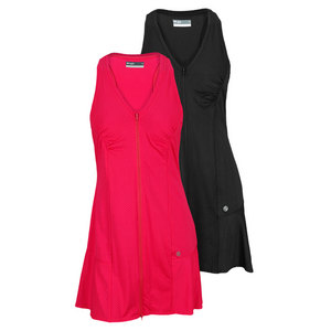 LIJA WOMENS ZIP FRONT TENNIS DRESS
