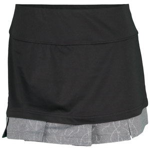 BOLLE WOMENS LUNAR ECLIPSE TENNIS SKORT BLACK