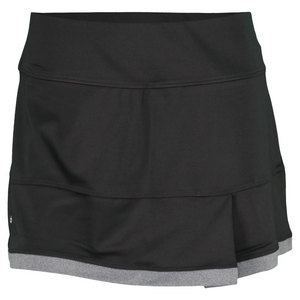 BOLLE WOMENS LUNAR ECLIPSE SIDE PLEAT SKORT BK