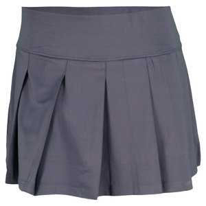 BOLLE WOMENS TENNIS SKORT GRAPHITE