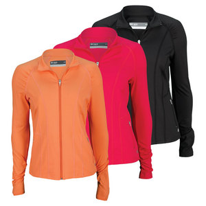 LIJA WOMENS SLEEK ZIP FRONT TENNIS JACKET