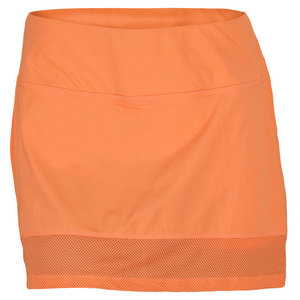 LIJA WOMENS EDGE TENNIS SKORT ORANGE