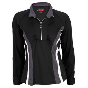 BOLLE WOMENS LUNAR ECLIPSE TENNIS JACKET BLACK