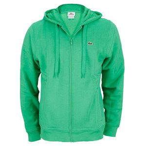 LACOSTE MENS ANDY RODDICK TENNIS HOODY GREEN