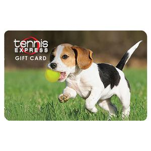 TENNIS EXPRESS DOG GIFT CARDS