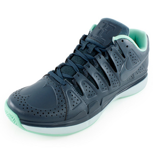 NIKE MENS ZOOM VAPOR 9 BROGUE LE SHOES BLUE
