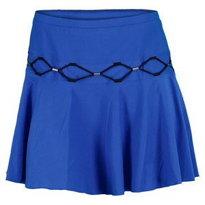 ELIZA AUDLEY WOMENS TUBULAR FLIP TENNIS SKORT ROYAL