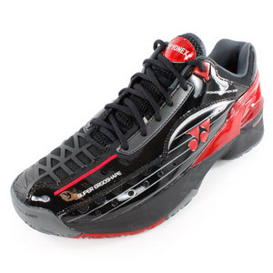 YONEX UNISEX POWER CUSHION 308 SHOES BK/RED