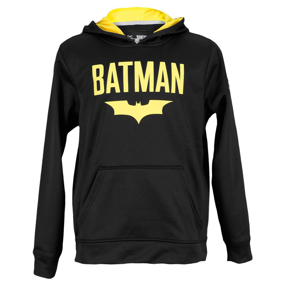 Boys` Alter Ego Batman Hoodie Black