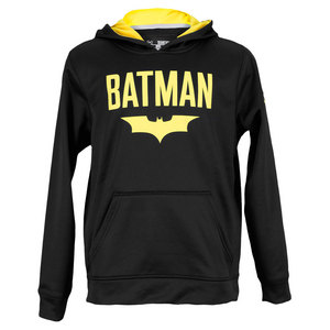 UNDER ARMOUR BOYS ALTER EGO BATMAN HOODIE BLACK