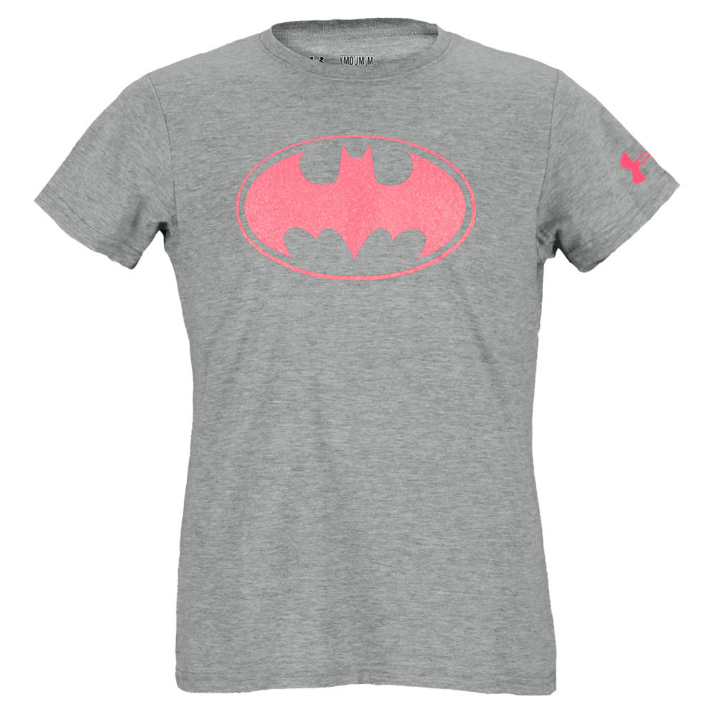 Girls'sparkle Batman Crew Gray Heather
