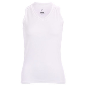 Women`s White Resort Racerback Power Tennis Tank