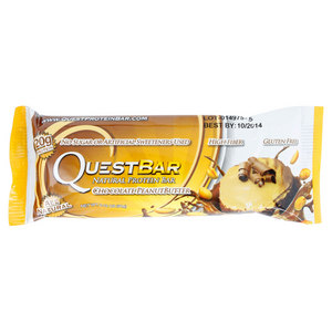 QUEST NUTRITION CHOCOLATE PEANUT BUTTER NATURAL BAR