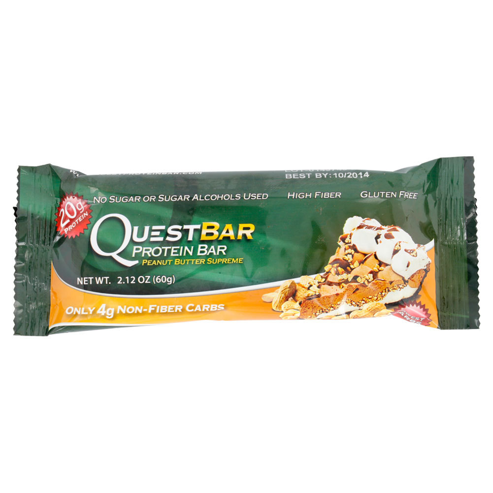 Tennis Express Quest Nutrition Peanut Butter Supreme Original Bar