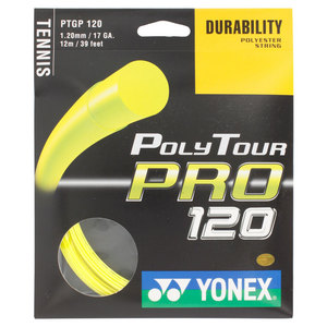 YONEX POLY TOUR PRO 120 17G STRING FLASH YLLW