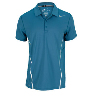 NIKE MENS SPHERE TENNIS POLO NIGHT FACTOR