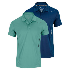NIKE MENS POWER UV TENNIS POLO