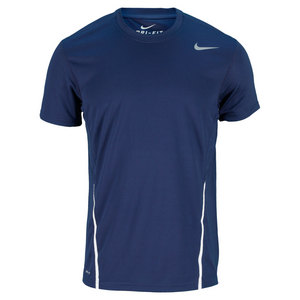 NIKE MENS POWER UV TENNIS CREW