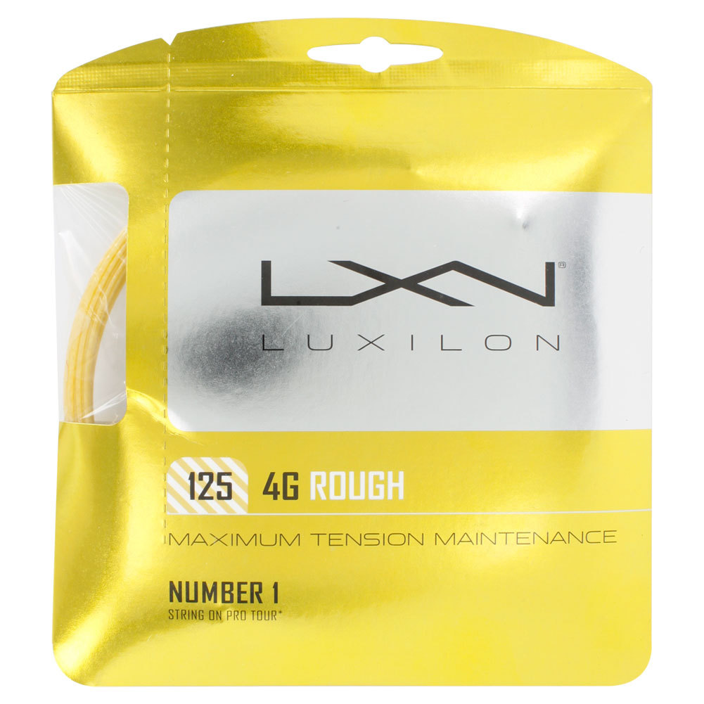 4g Rough 125 16l Tennis String Gold