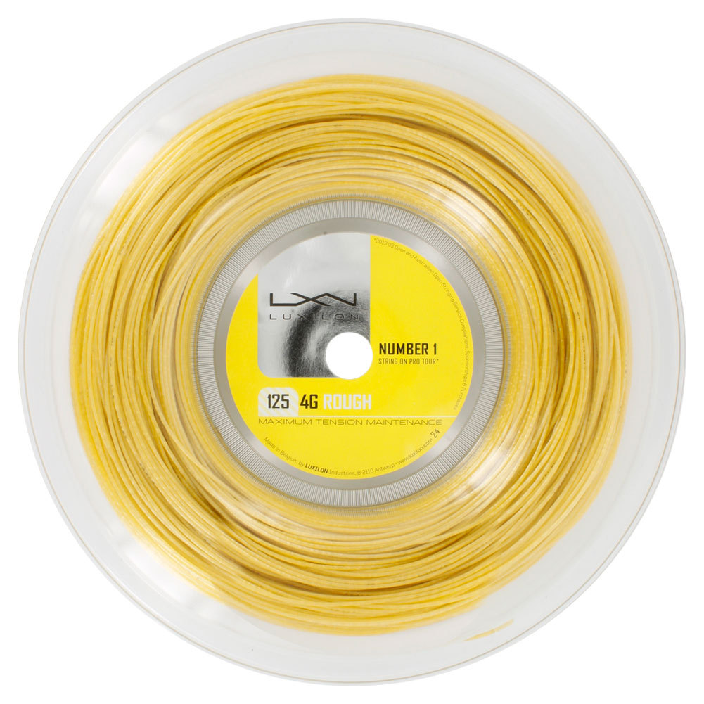 4g Rough 125 16l Tennis String Reel Gold