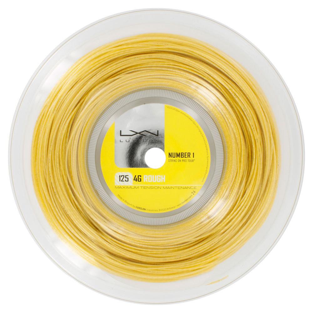 4g Rough 125 16l Tennis String Reel Gold