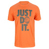 NIKE Men`s Just Do It Bites Tennis Tee Turf Orange