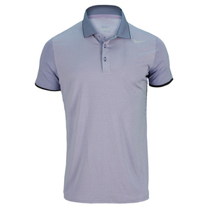 NIKE MENS PREMIER RF TENNIS POLO IRON PURPLE