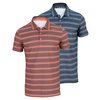 NIKE Men`s Rally Sphere Stripe Tennis Polo