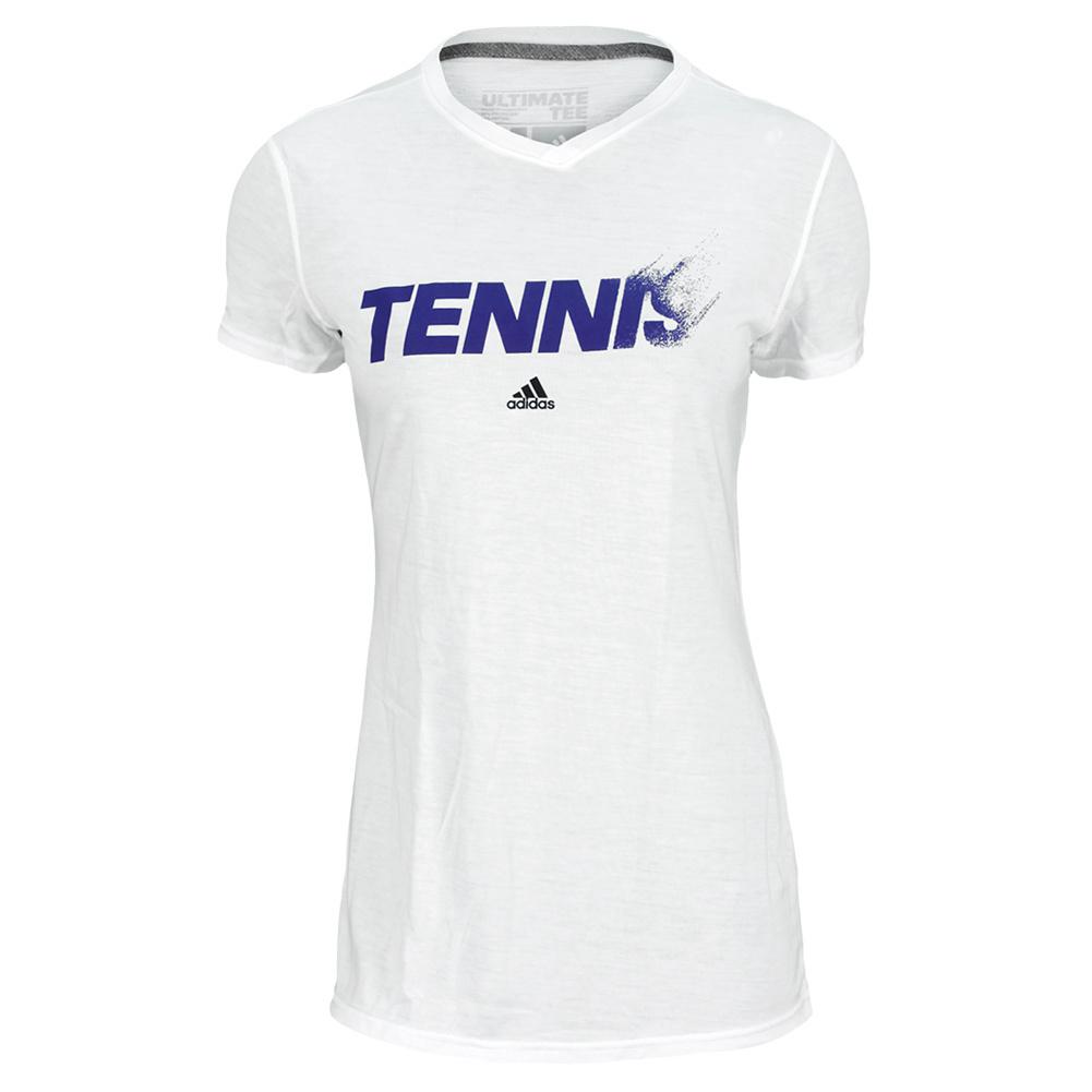 Women's Tennis Tee White