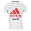 Men`s Tennis Tee White by ADIDAS