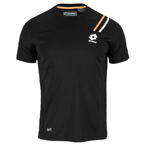 LOTTO MENS SET PL TENNIS TEE BLACK