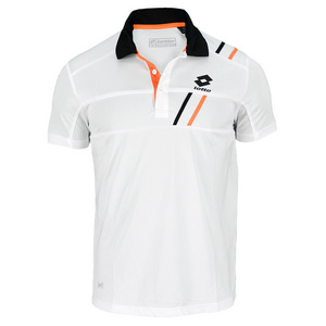 LOTTO MENS SET PL TENNIS POLO WHITE