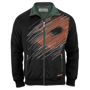 LOTTO MENS EWAN PL TENNIS JACKET BLACK