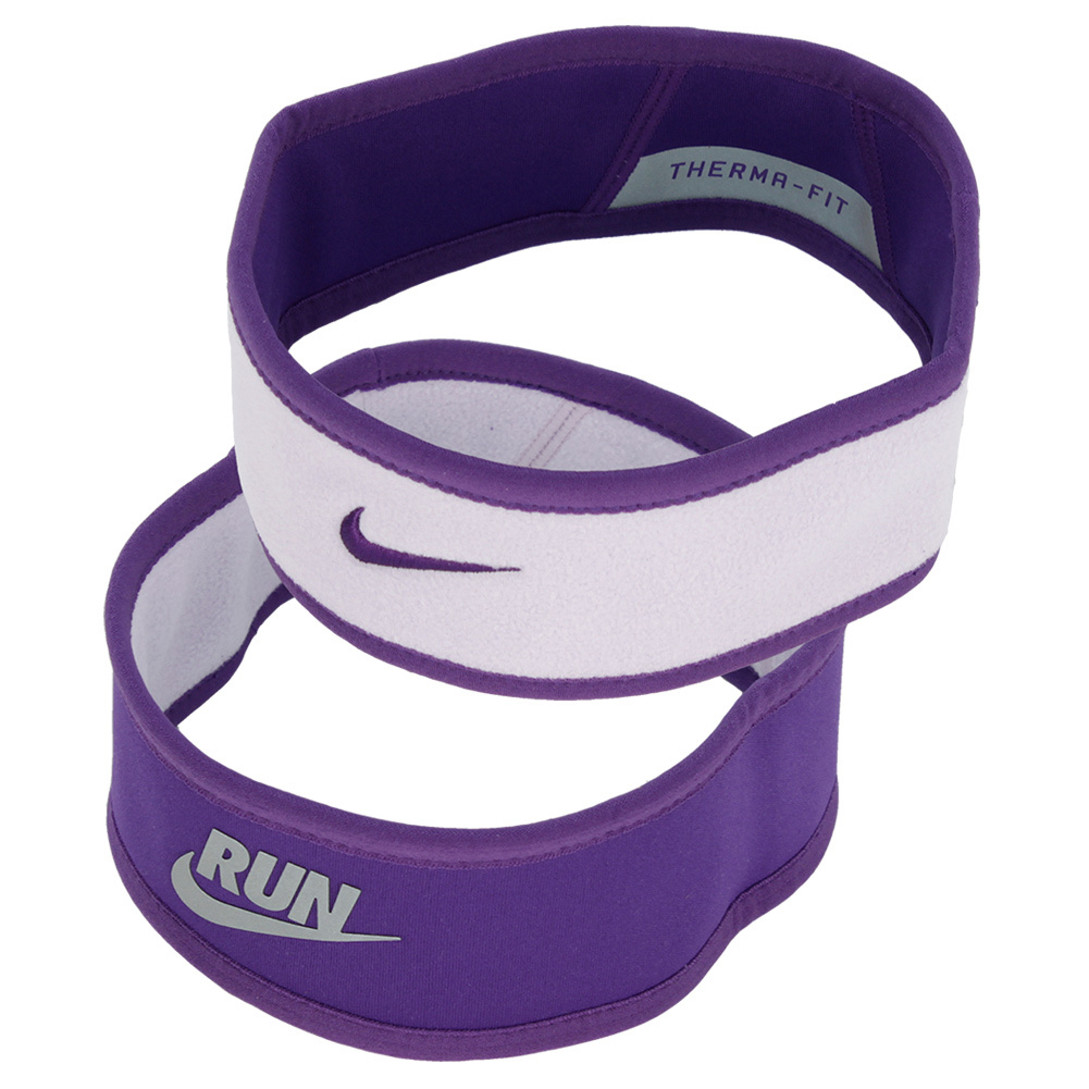 Juniors` Perf Reversible Headband Purple and Violet