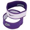 NIKE Juniors` Perf Reversible Headband Purple and Violet