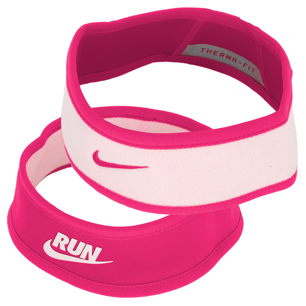 Juniors` Perf Reversible Headband Pink