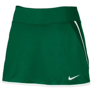 Women`s Power Tennis Skirt Dark Green