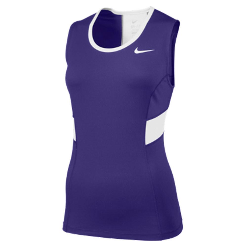 Women's Power Tennis Tank Purple