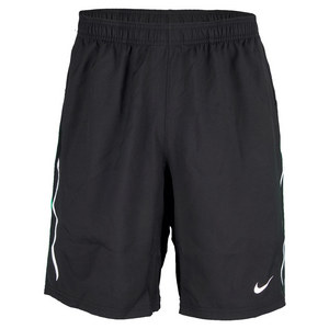 Men`s Power 9 Inch Woven Tennis Short Black