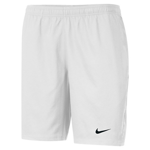 Men`s Power 9 Inch Woven Tennis Short White