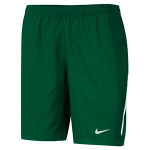 Men`s Power 9 Inch Woven Tennis Short Dark Green