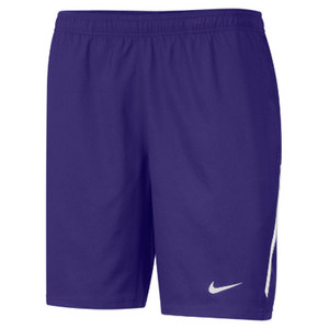 Men`s Power 9 Inch Woven Tennis Short Purple