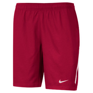Men`s Power 9 Inch Woven Tennis Short Scarlet