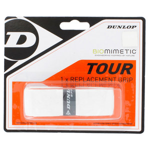 DUNLOP BIOMIMETIC TOUR REPLACEMENT GRIP WHITE