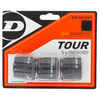 DUNLOP Biomimetic Tour 3 Pack Tennis Overgrip Black
