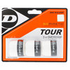 Biomimetic Tour 3 Pack Tennis Overgrip White by DUNLOP