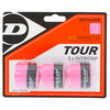 Biomimetic Tour 3 Pack Tennis Overgrip Pink by DUNLOP
