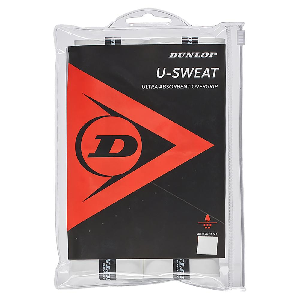 U Sweat 12 Pack Tennis Overgrip White