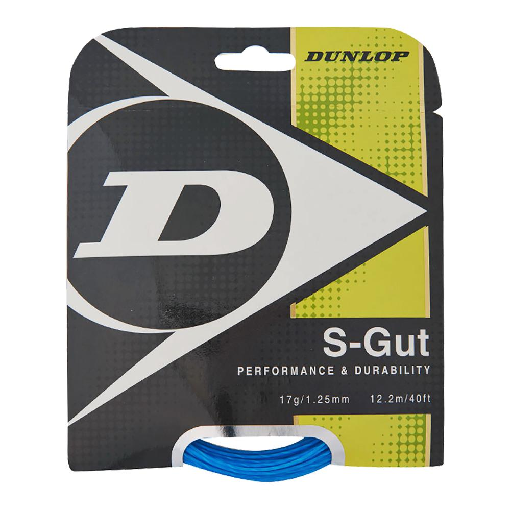 S- Gut 17g Tennis String Blue