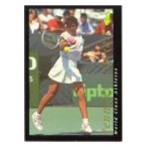 TENNIS EXPRESS WORLD CLASS ATHLETES CARD JENNIFER CAPRI